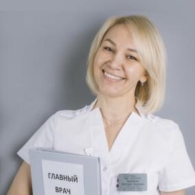 Кравченко (Карцева) Виктория Тагировна, стоматолог-терапевт