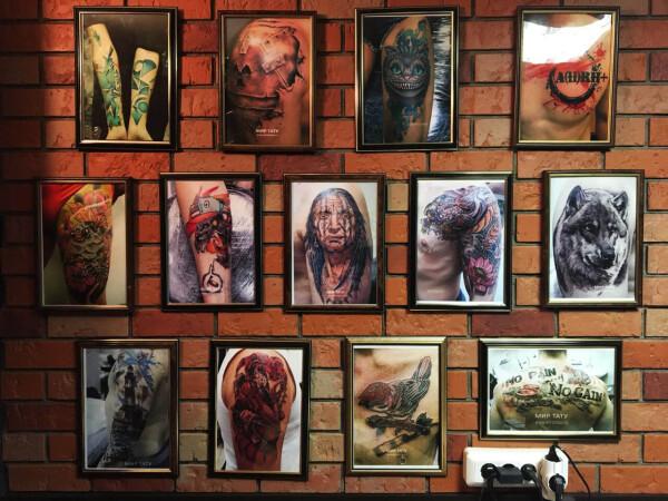Студия татуировки и пирсинга Мир тату на Арбате