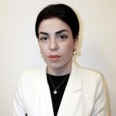 Берая Астанда Эдуардовна, гинеколог