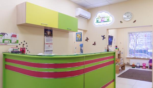 """Детская поликлиника """"Преамбула"""" в Новокосино"""