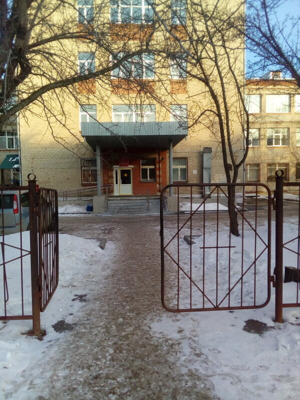 Областной онкологический диспансер на Комсомольской