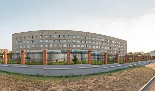 Дорожная поликлиника на Горбунова