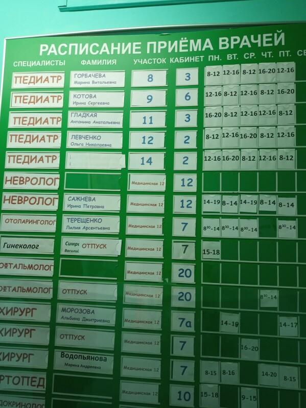 Детская поликлиника №18 на Таганрогской