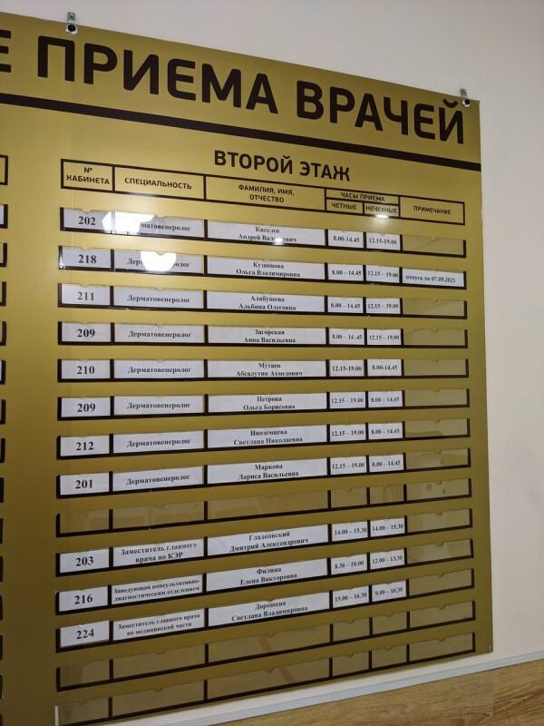 Кожно-венерологический диспансер на Марины Расковой 18